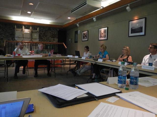 Board of Trustees meeting at Tyler Arboretum