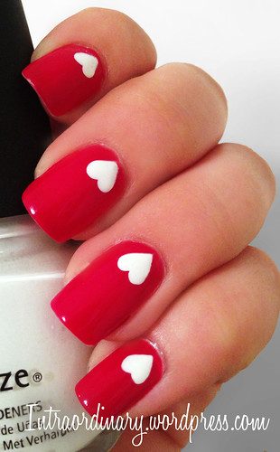 Heart Nails by intraordinary