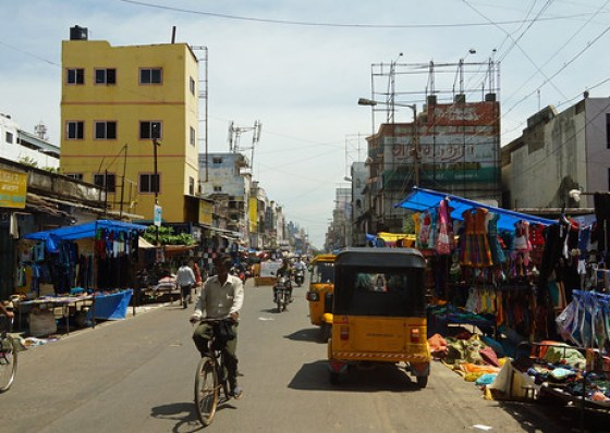 Pondicherry Main Street