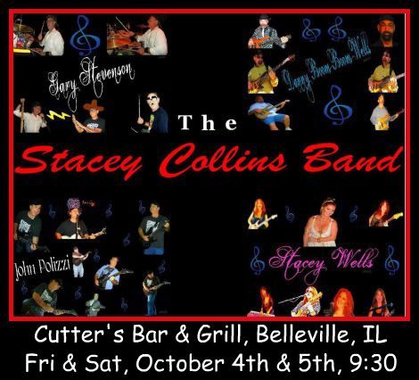 Stacey Collins Band 10-4, 10-5-13
