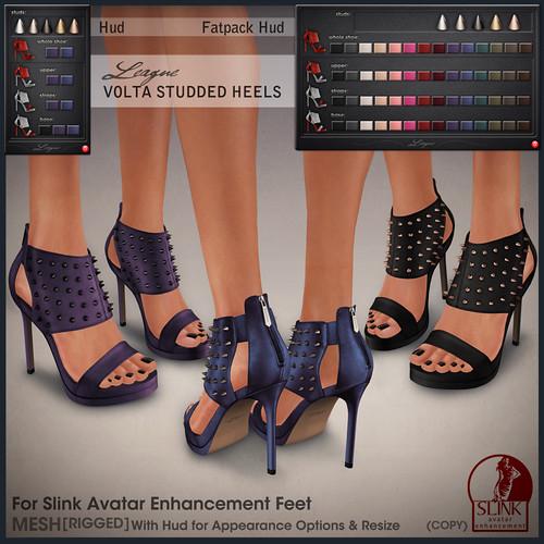 League Volta Studded Heels