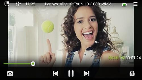 ชมคลิป 1080p บน Lenovo Vibe X