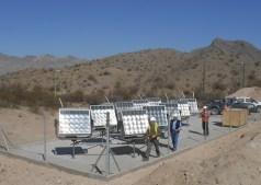 Utilización de energía solar