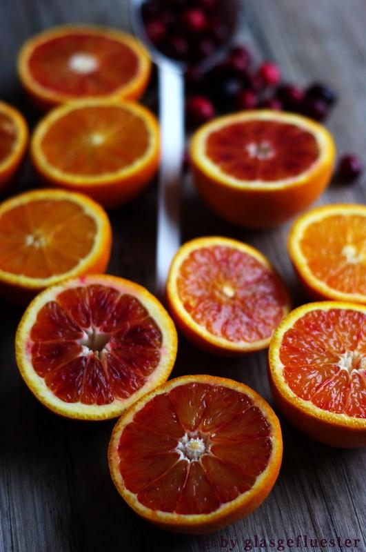 Blutorangen Cranberry Marmelade by Glasgeflüster 1 klein