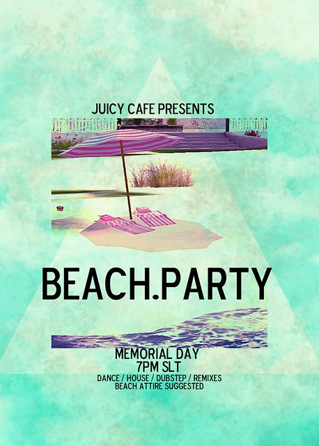 We're gonna have a beach party, y'all.