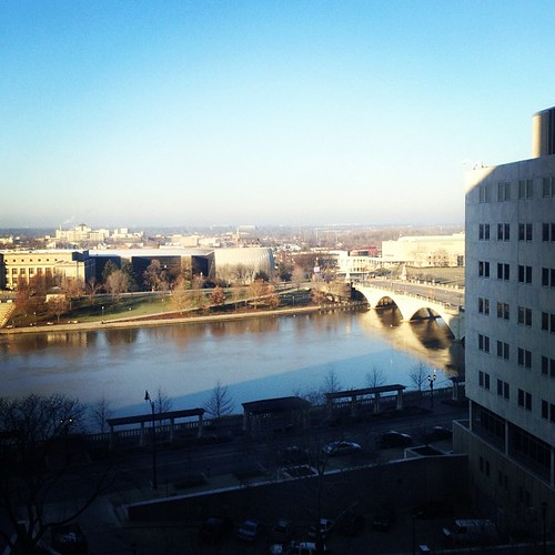 View from the Doubletree Columbus OH by @MySoDotCom