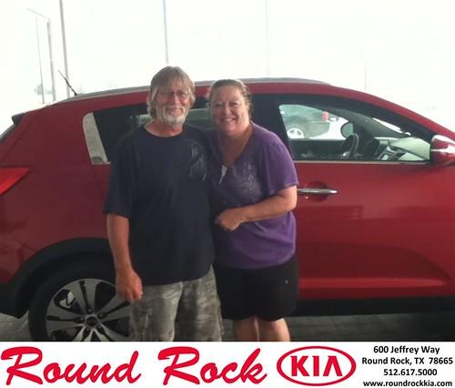Thank you to Steve Vernon on the 2013 Kia Sportage from Timmy Wiles and everyone at Round Rock Kia! by RoundRockKia