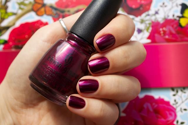 09 China Glaze Autumn Nights Don't Make Me Wine