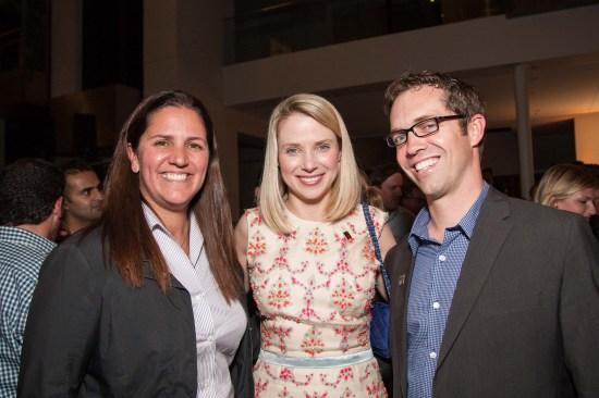 Sarah Leary, Marissa Mayer, Jeremy Bird