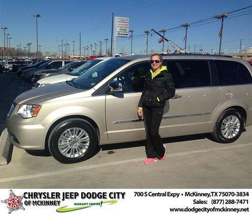 Happy Birthday to Marta Drozdowicz from Craig  Jackson and everyone at Dodge City of McKinney! #BDay by Dodge City McKinney Texas