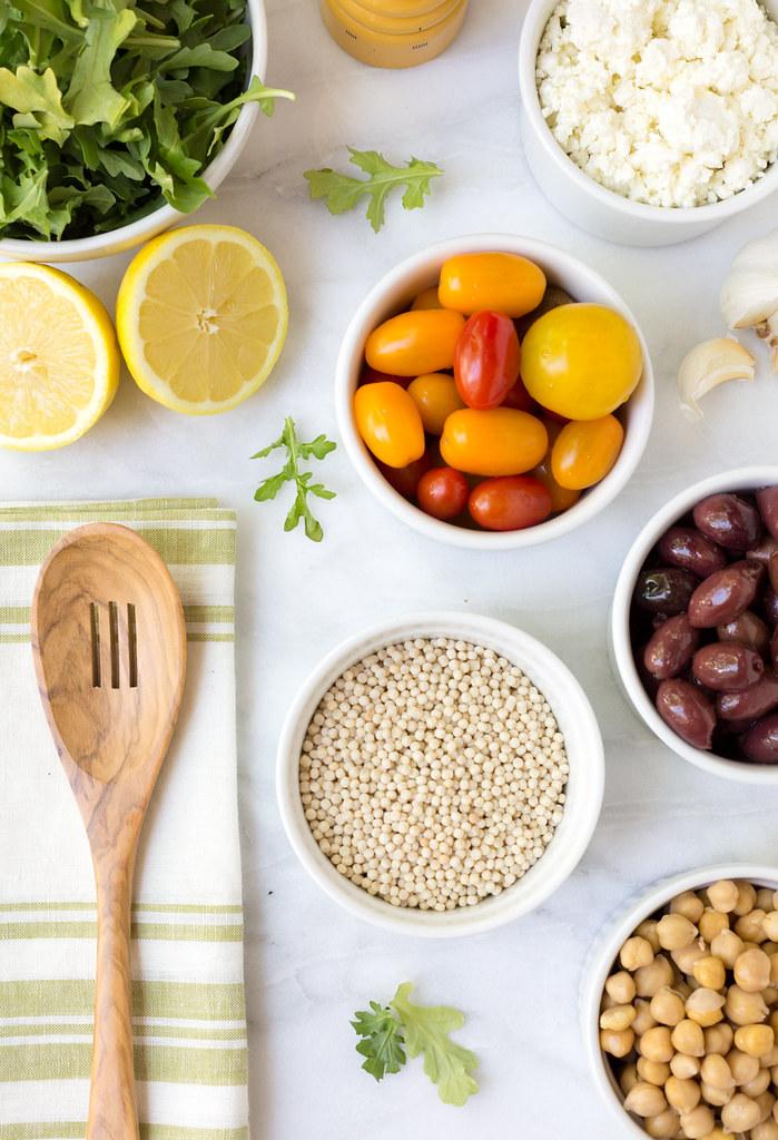 mediterranean pearled couscous salad ingredients