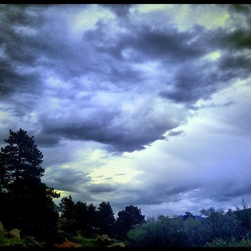Stormy Skies by @MySoDotCom
