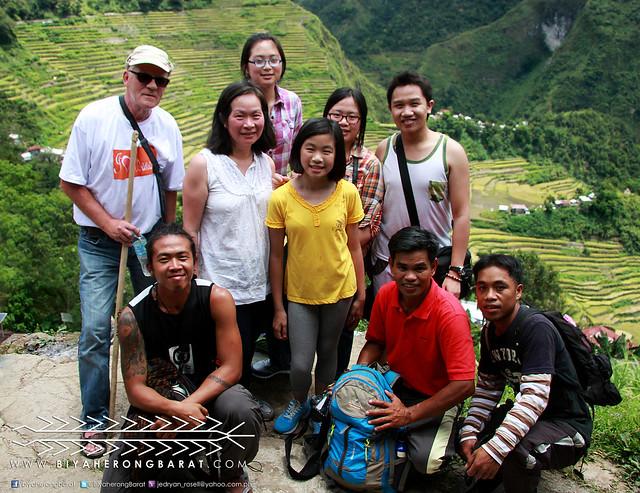 Travel, hiking, trekking to Batad Rice Terraces