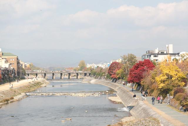 京都 鴨川 河原町