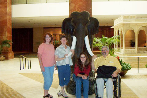 Jodi, Gail, Melissa, and Fabien.