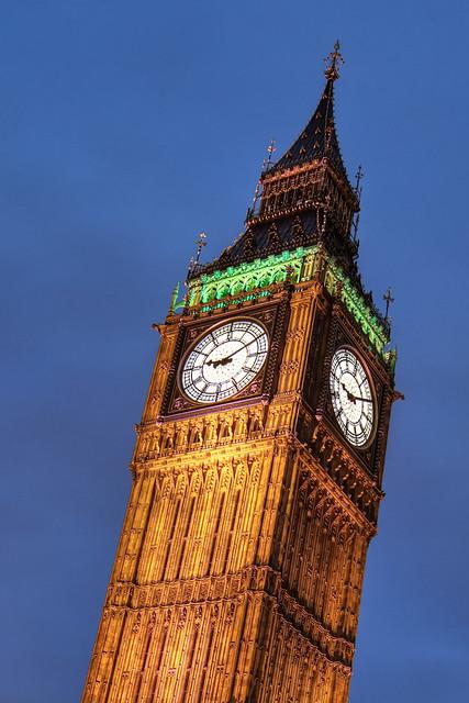 Elizabeth Tower - HDR 'Natural' and 'Creative' Presets Blended