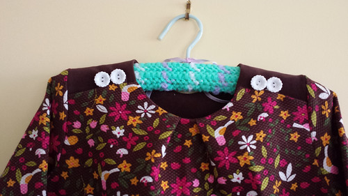 Oliver + S Book Report dress size 8 for Clare
