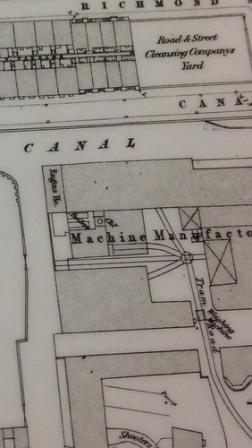 Canal Street- 1849, the cleansing company yard