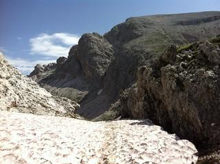 Abstieg über das Seitenbachtal Richtung Grünwaldalm