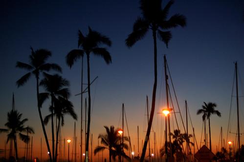 Ala Wai sunset