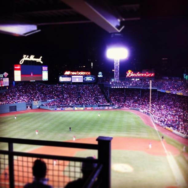Red Sox Win #fenway #boston #redsox #yankees #baseball