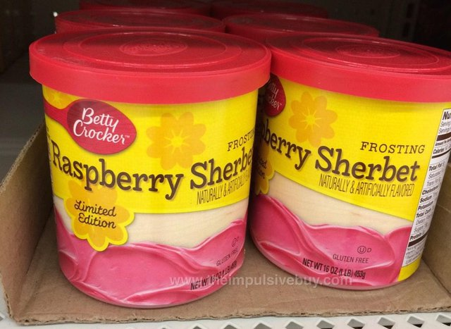 Betty Crocker Limited Edition Raspberry Sherbet Frosting