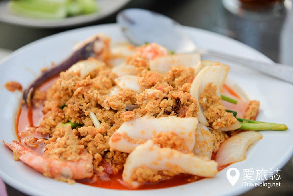 《北碧府餐厅推介》Dejtosapak Restaurant:美功河畔的河景亲水餐厅,享用无敌夕阳美景的晚餐