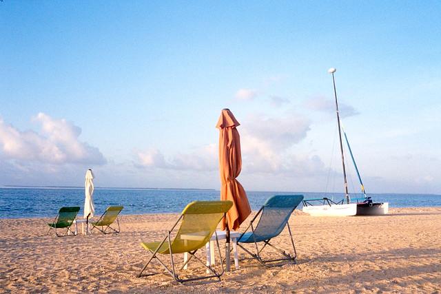 小濱島沙灘日出