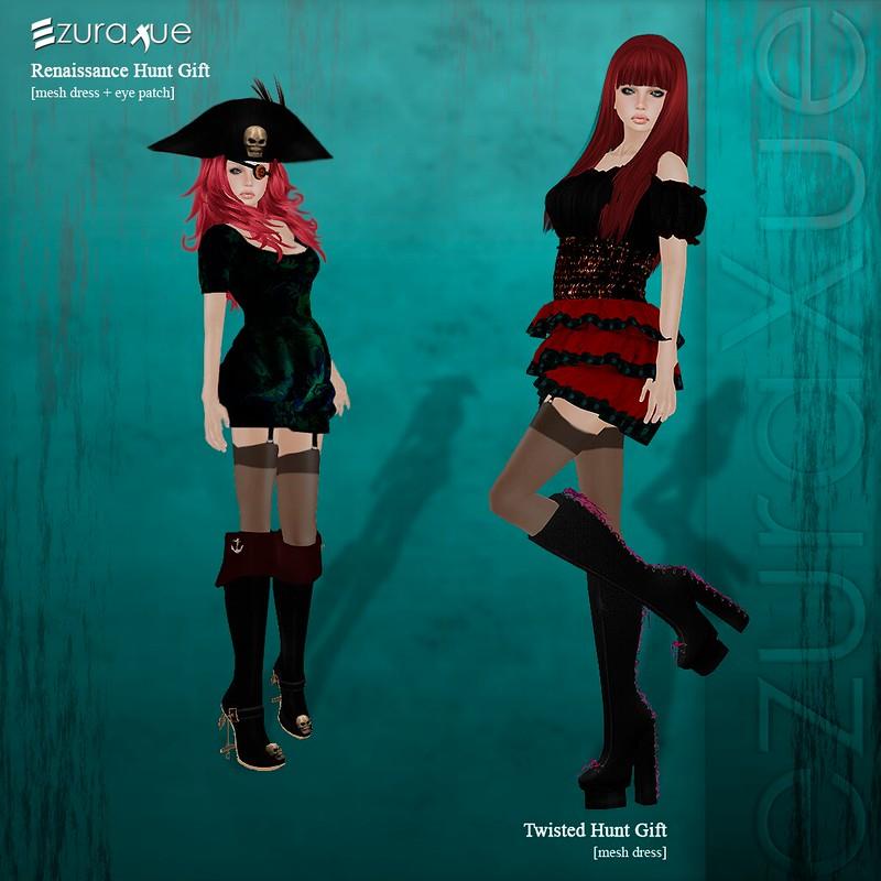 ezura + Renaissance & Twisted Hunt Gifts