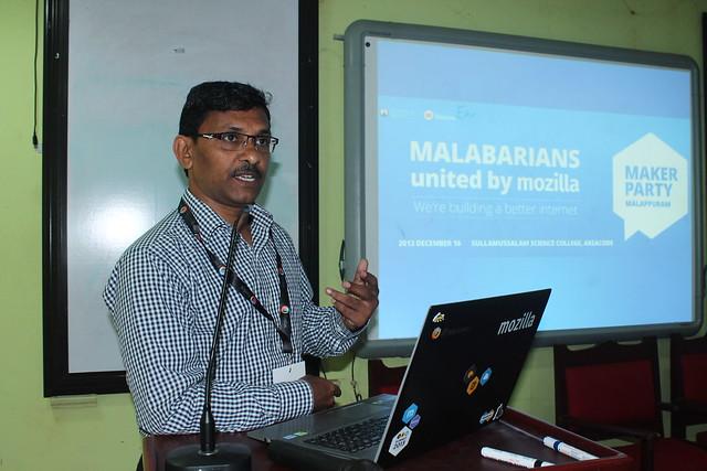 Mr.Muhamed Ilyas inaugurating Webmaker Malabar