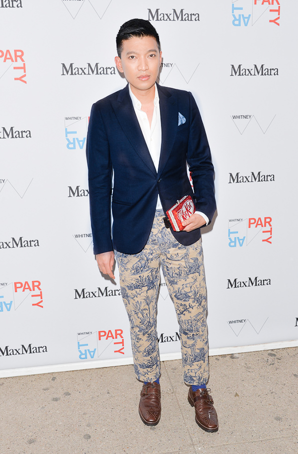 Bryanboy attends the 2014 Whitney Museum Art Party