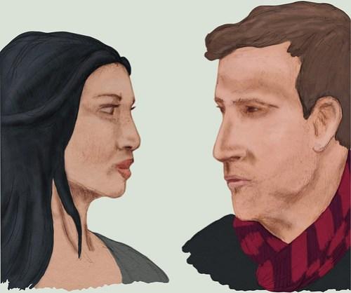 Joan and Sherlock