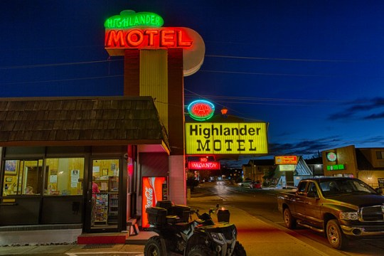 Highlander Motel - Williams, Arizona U.S.A. - May 21, 2013
