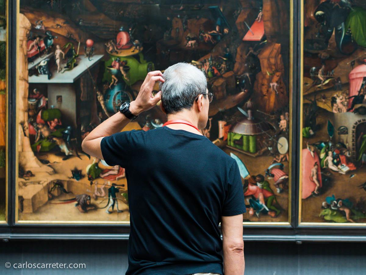 Copia del Juicio Final del Bosco - Gemäldegalerie