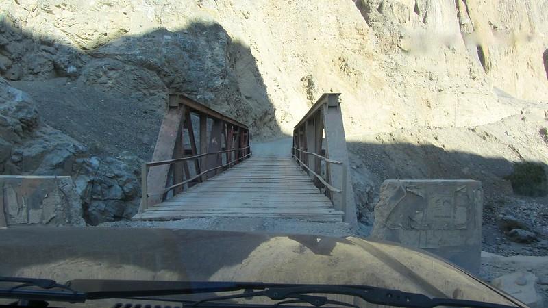 Brücke im Cañon