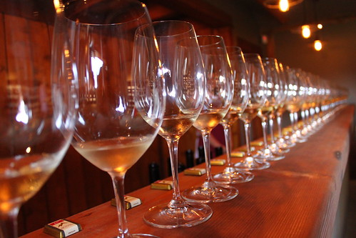 Wine tasting at Township 7