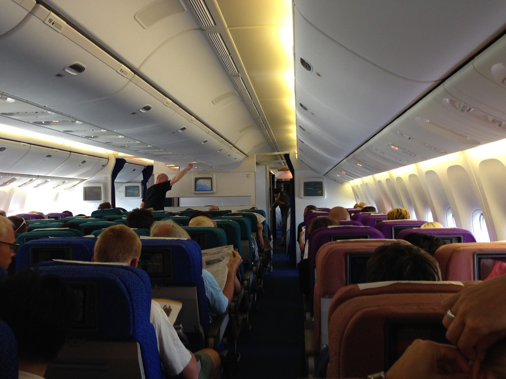 Onboard Malaysia Airlines 777-200
