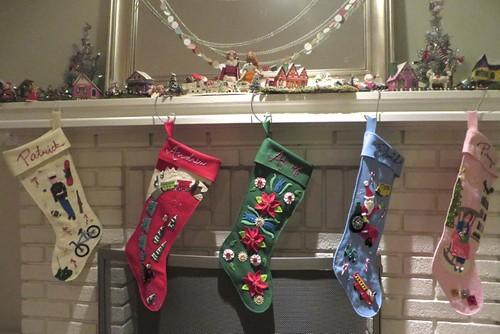 Vintage-style custom stockings