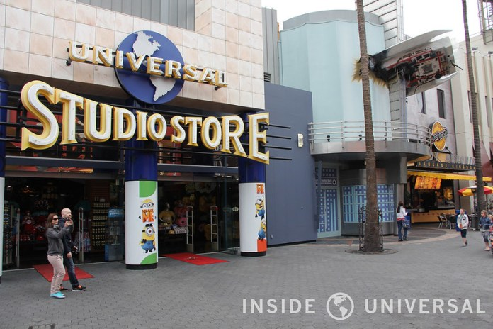 Photo Update: February 8, 2015 - Universal Studios Hollywood - Universal Studio Store