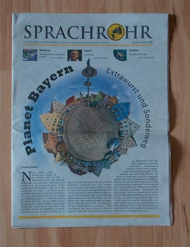Sprachrohr Mai/Juni 2013