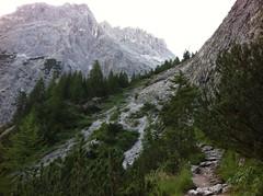 Aufstieg Zsigmondyhütte