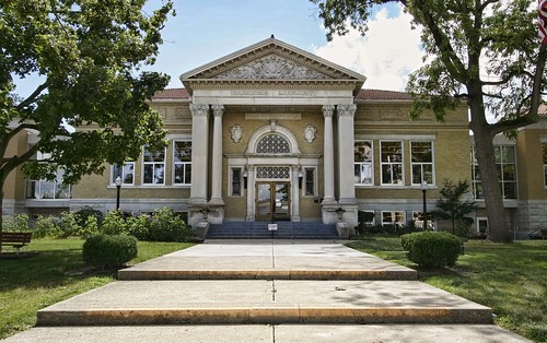 Greenville Public Library, Ohio. Photo copyright Jen Baker/Liberty Images.