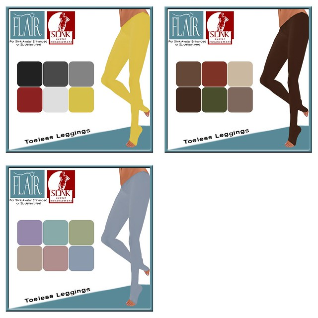 Flair - Toeless Leggings - Vendors Coll 2