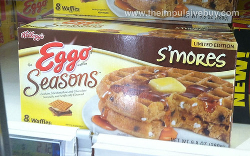 Eggo Seasons Limited Edition Smore's Waffles