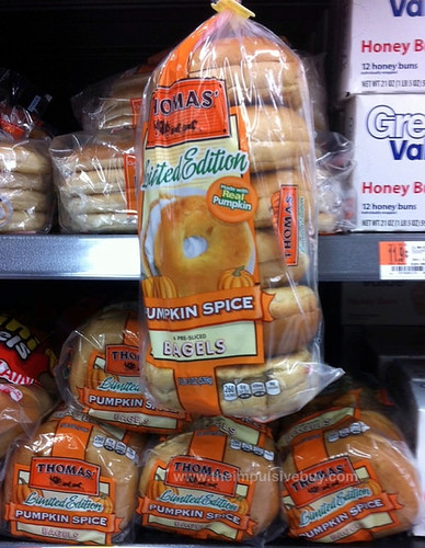 Thomas' Limited Edition Pumpkin Spice Bagels