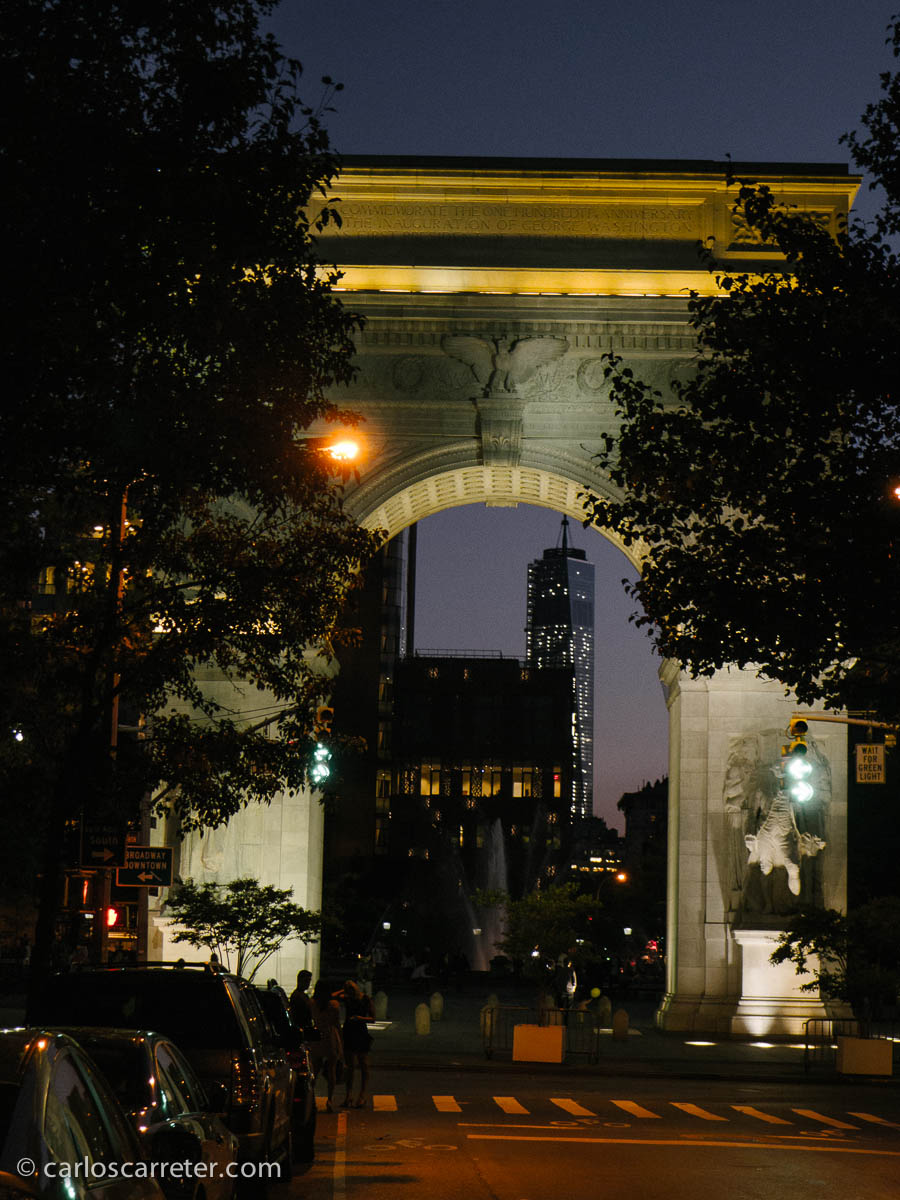 Quinta Avenida y Washington Square