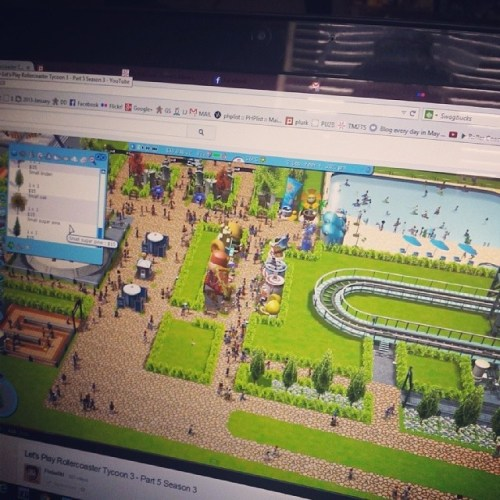 Watching some #flabaliki/@simsupply videos while waiting for caffeine to kick in. #dayinthelife