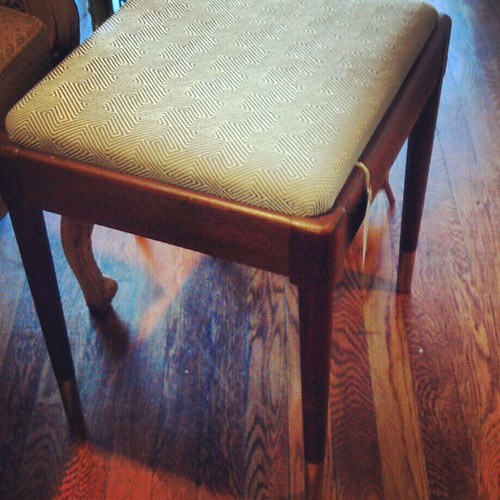 mid century stool