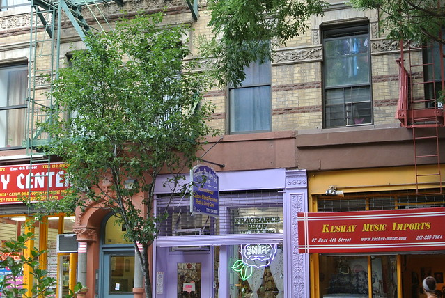 East Village Storefronts