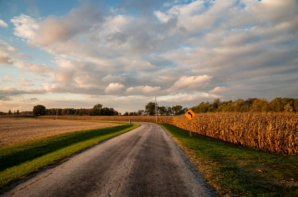 Indiana Country Road